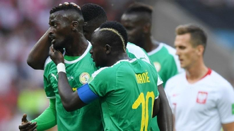 eec242b1da5 Senegal upset Poland with a 2-1 Group H victory in Moscow that owed plenty  to poor mistakes from the European nation.