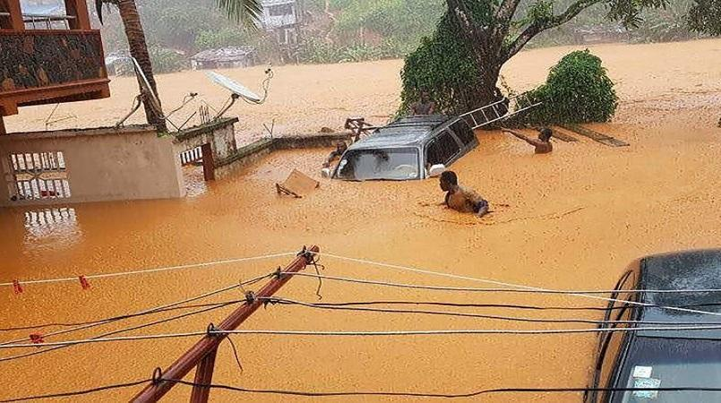 Hundreds feared killed in Sierra Leone flooding