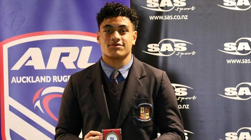 St Paul's Christian Tuipulotu named SAS College Rugby League Player of the Year
