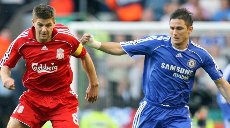 Image result for lampard and gerrard