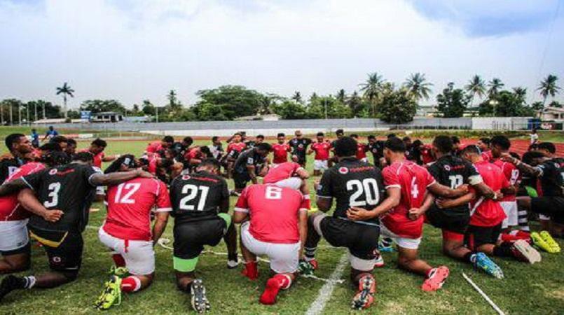 Tonga U 20 flyhalf Netane Masima eyes Fiji