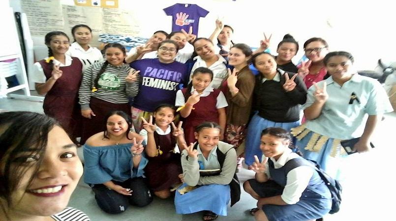 Tongan young women define peace, human security