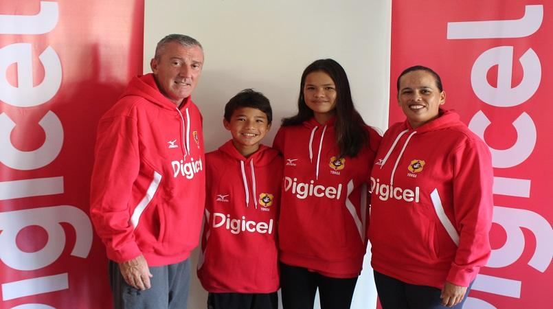 Swimmer Neolani Day receives support from Digicel Tonga