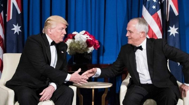 Donald Trump called his relationship with Australian Prime Minister Malcolm  Turnbull