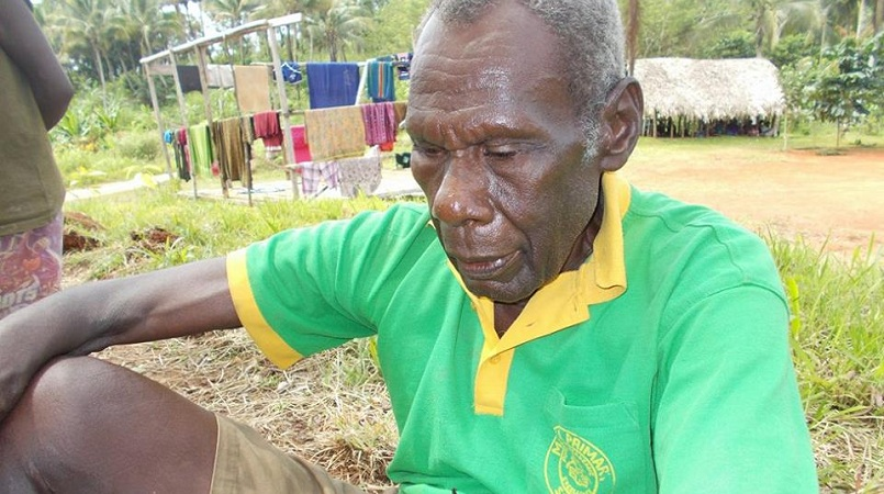 Makolkol elder William Labu