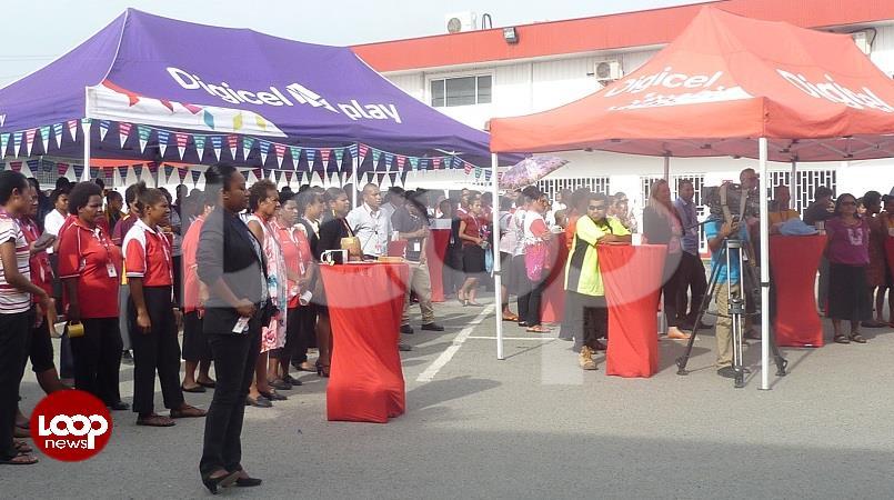 Digicel staff