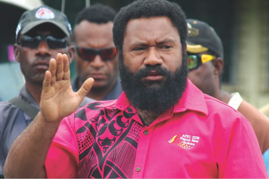 EHP Governor Peter Numu