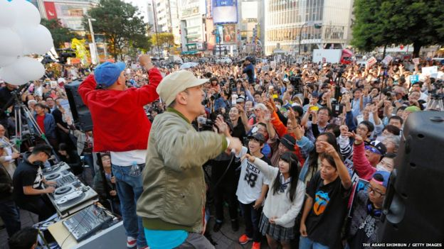 Music has been a key feature of the student protests in Japan.