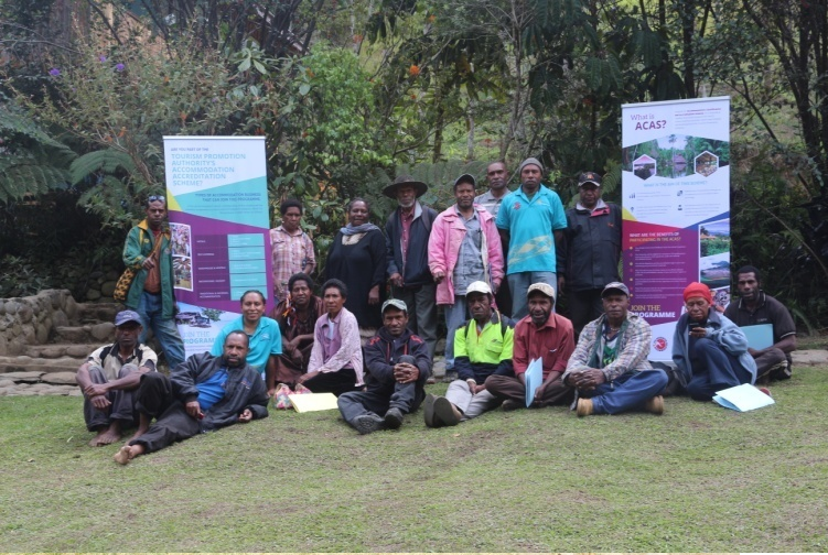 Participants at Gembogl ACAS Awareness Workshop
