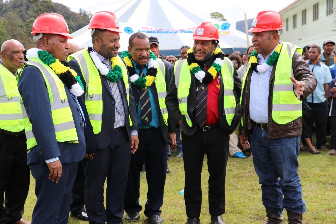 Ground breaking of the laboratory complex