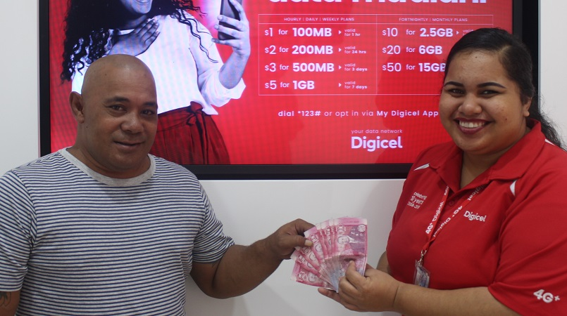 Digicel Tonga announces March SMS game, Sporting Glory winners