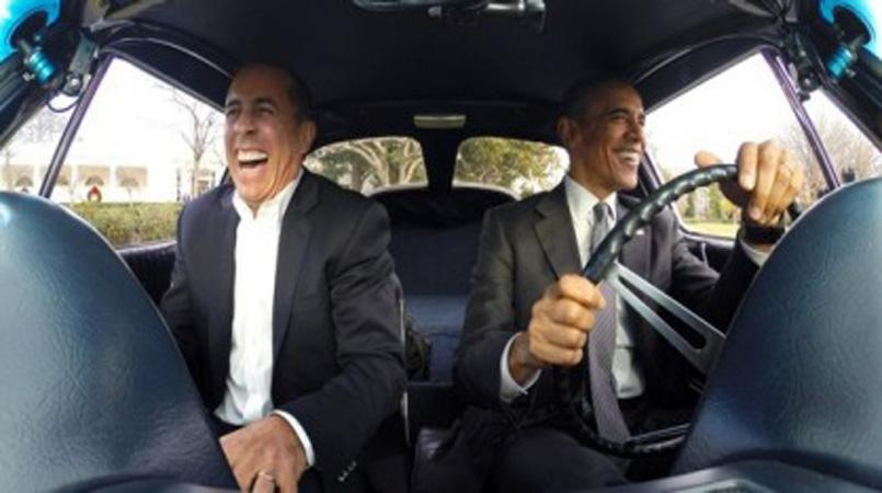 Obama Car: 19 Minutes In A Car With Obama