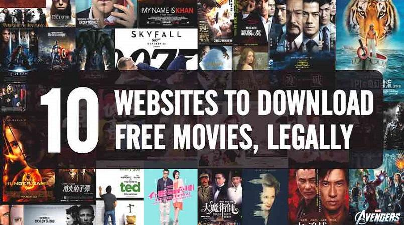 Top 6 websites to download full movies absolutely free.