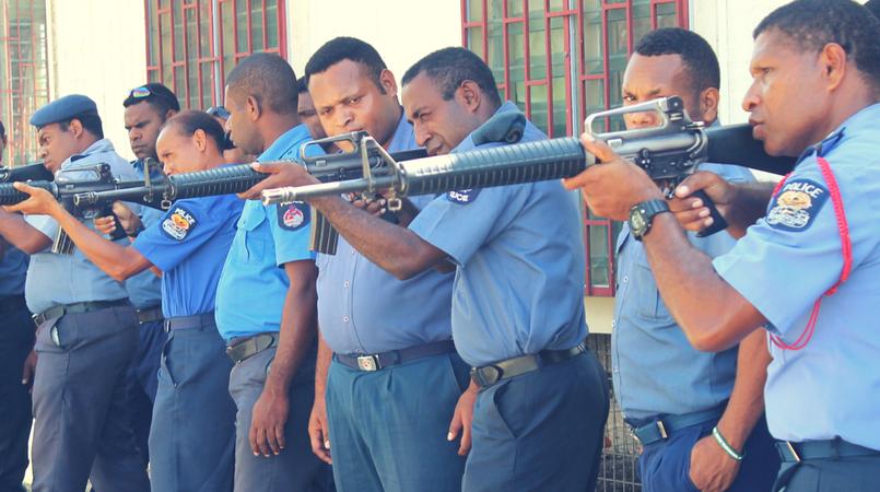 20 officers undergo firearm training | Loop PNG