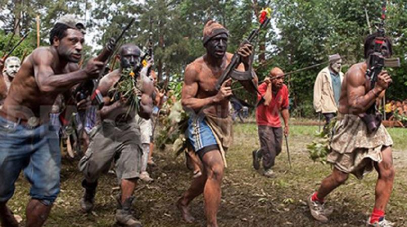 The sight of tribal tensions by outsiders upset ...
