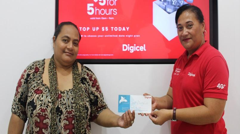Digicel Tonga draws winners names for Mother's and Father's