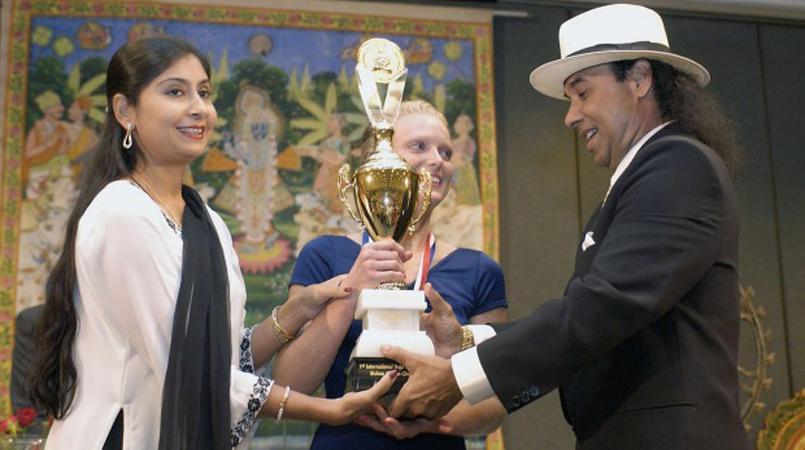 Bikram And Rajashree Choudhury Divorce Disrupts Calm Of Yoga World Loop Vanuatu