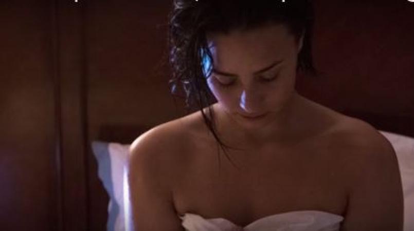 Demi Lovato Goes Nude for Vanity Fair