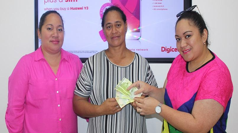 Digicel Tonga names 4th winners for Top Up & Win campaign