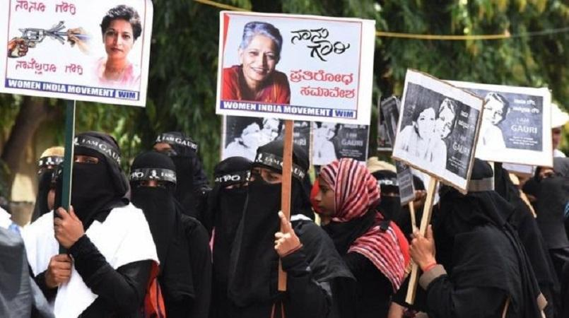 Protest for justice over murdered Indian journalist | Loop