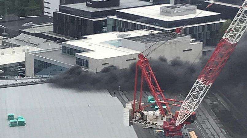 Major Fire Breaks Out In Skycity Convention Centre In