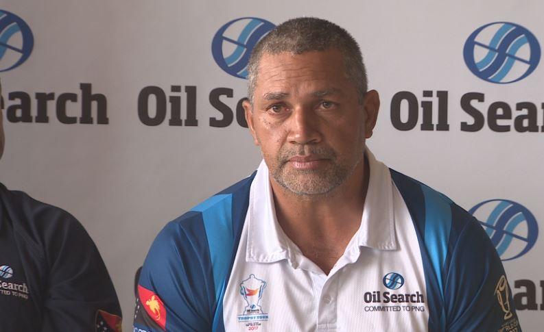 Head coach David Westley